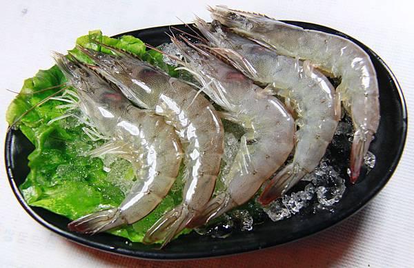 鼎鱻燒肉火鍋 - 白蝦
