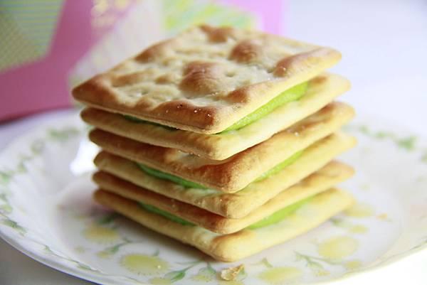 艾瑪手作烘焙工坊-抹茶牛軋餅乾