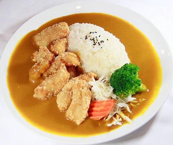 咖哩嘎嘎食堂-土魠魚咖哩