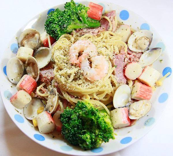毛利醬醬 義式Pasta - 白酒海陸義大利麵