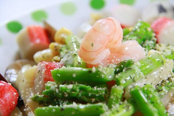 毛利醬醬 義式Pasta - 蘆筍海鮮