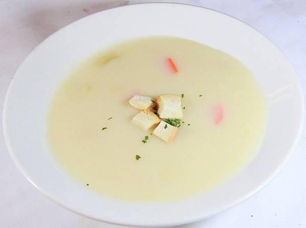 爵品牛排-玉米濃湯