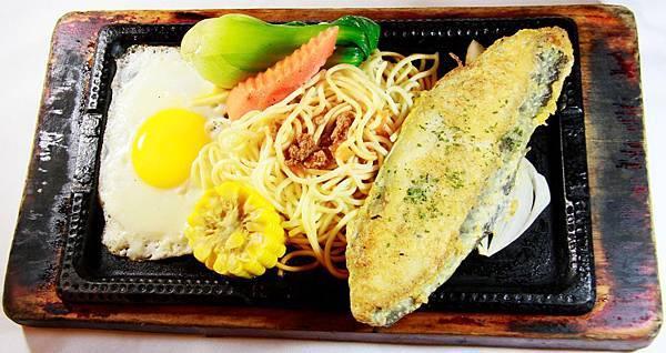 爵品牛排-冰島鱈魚