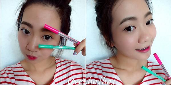 【彩妝教學】3種韓式眼線+2種眉毛畫法!!!!!輕鬆打造三種韓妞look