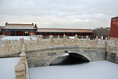下雪的故宮-金水橋.JPG