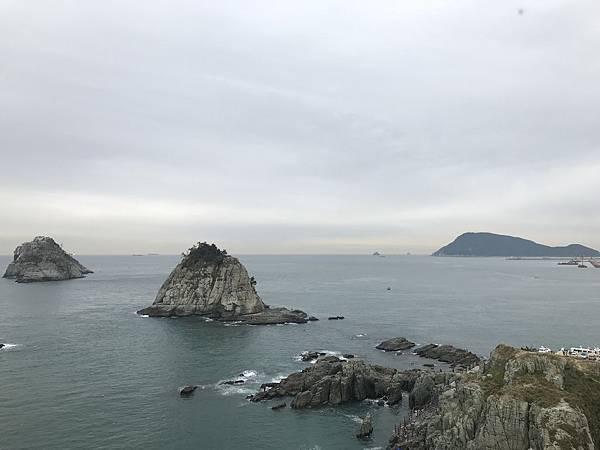【韓國釜山】海岸散步路:五六島天空步道到二妓台
