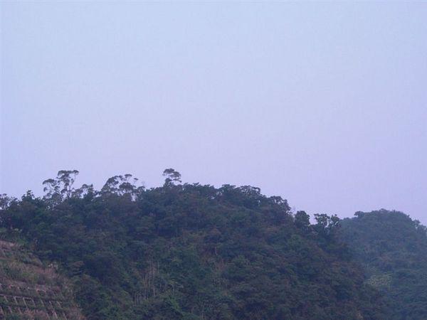 遠方的山頭