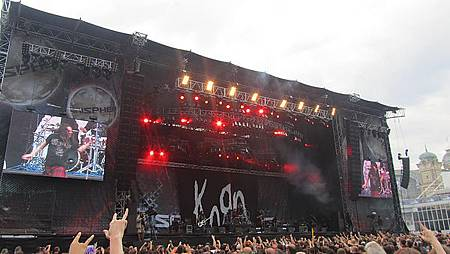 在捷克再次遇見Korn