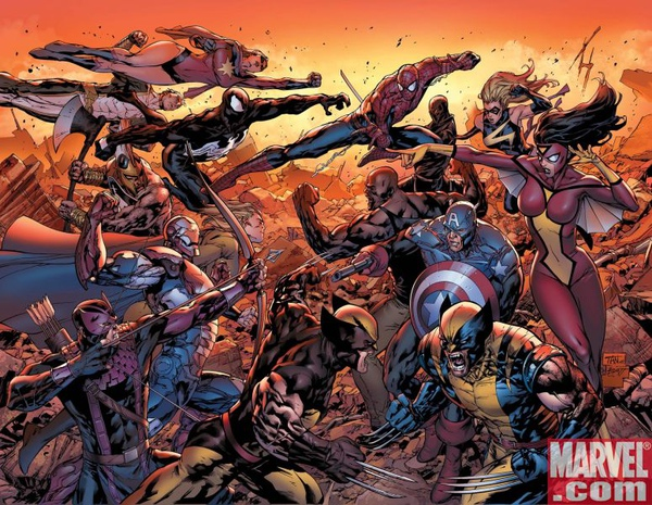 Dark Avengers vs New Avengers.jpg