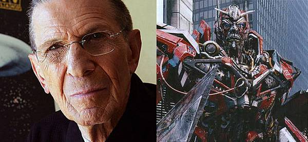 Leonard Nimoy is the Voice of Sentinel Prime.jpg