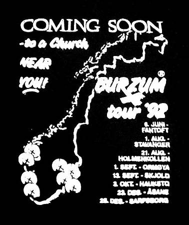 Burzum Coming Soon to a Church Near You 1992 Tour (Back).jpg