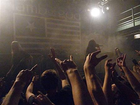 Lamb of God布拉格演唱會