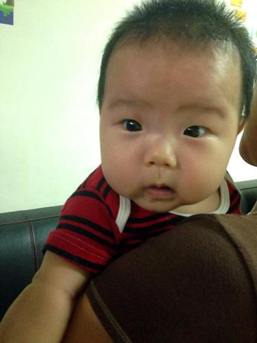 小寶滿三個月了