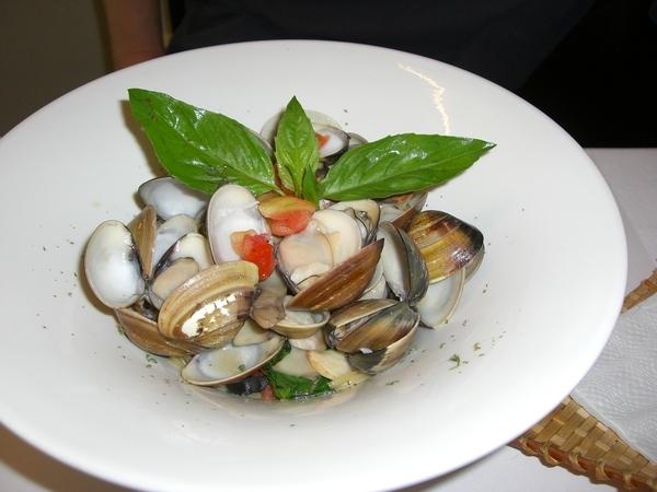清炒蛤蜊義大利麵
