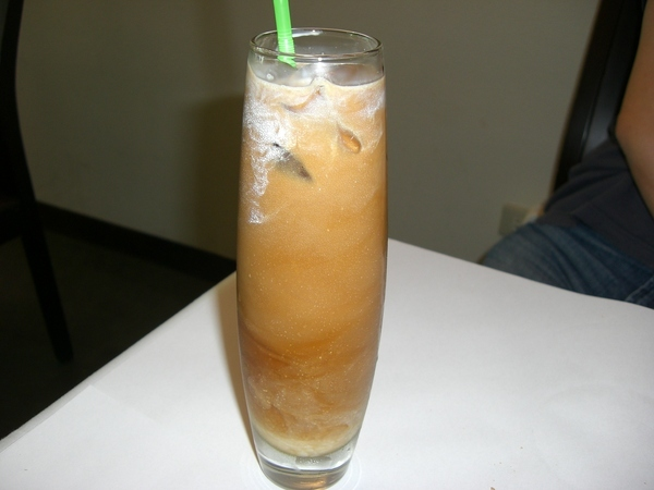 附餐飲料 :冰咖啡