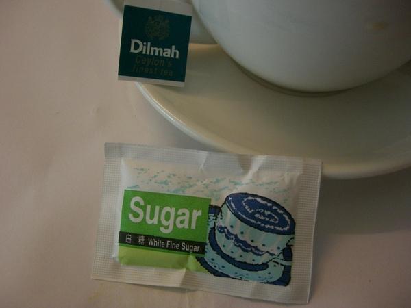 茶包的吊牌與糖包