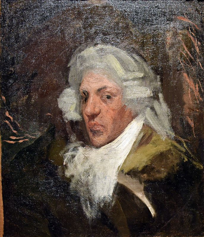 self-portrait with wig