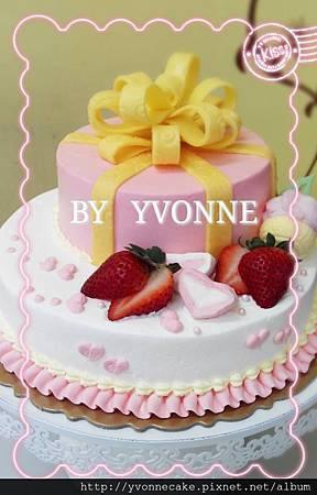 雙層禮物蛋糕