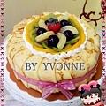 可麗餅披覆蛋糕