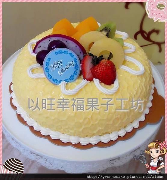 布丁披覆蛋糕