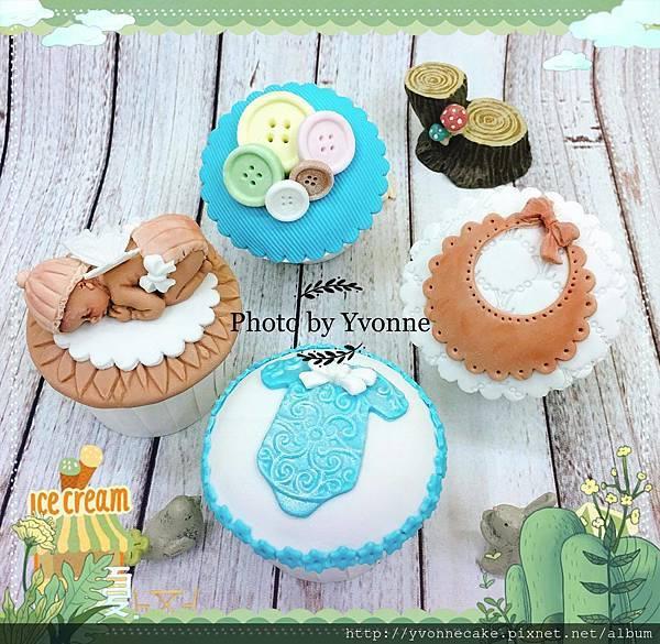 天使寶貝杯子蛋糕