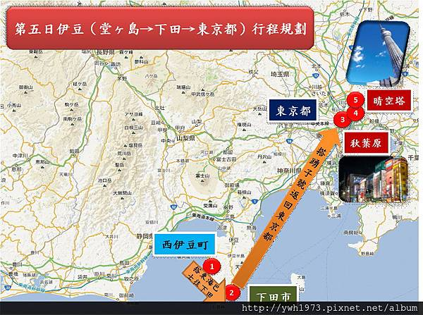 第5日東京行程