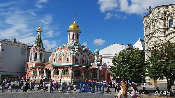 A26-喀山聖母大教堂(莫斯科紅場)