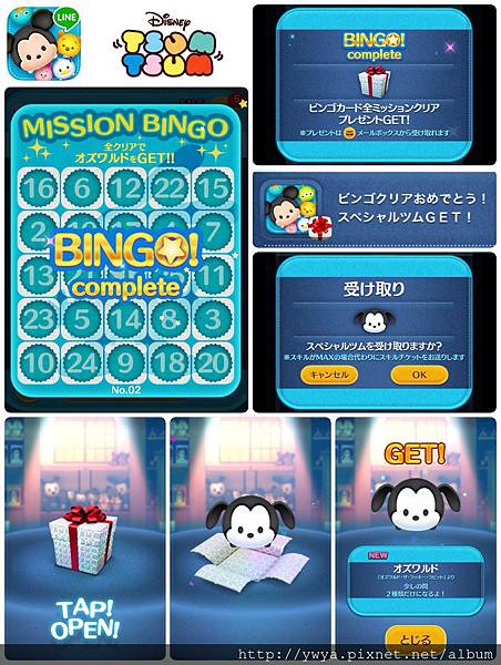 Bingo #2 complete