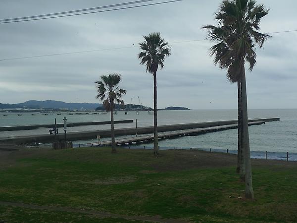 海邊的防波堤