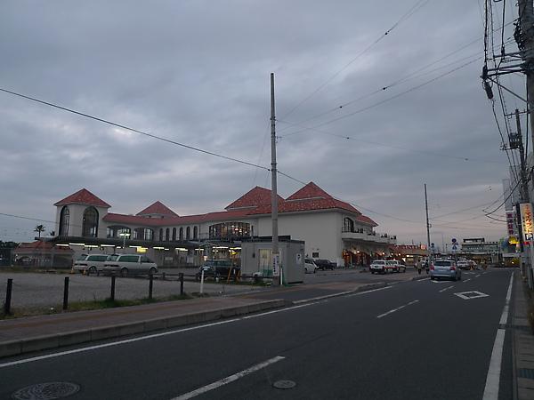 館山車站前