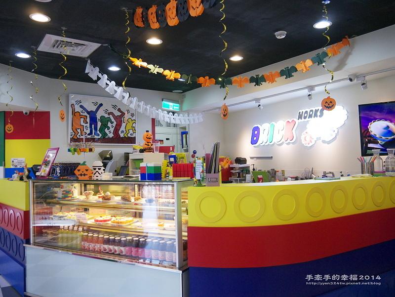 【食】brick works 樂高主題餐廳 (小巨蛋店)