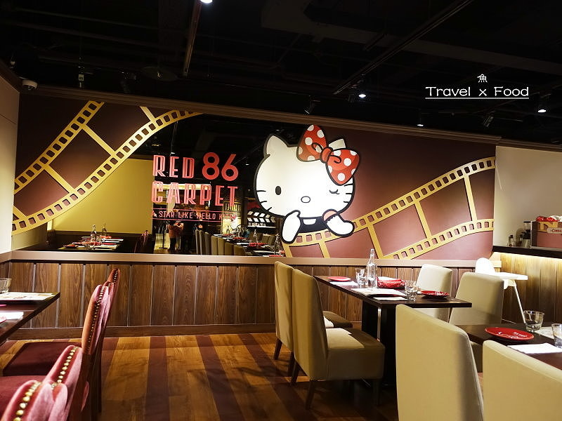 Hello Kitty Red Carpet美式餐廳170207009