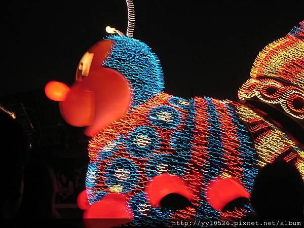 東京迪士尼-花燈遊行6.JPG