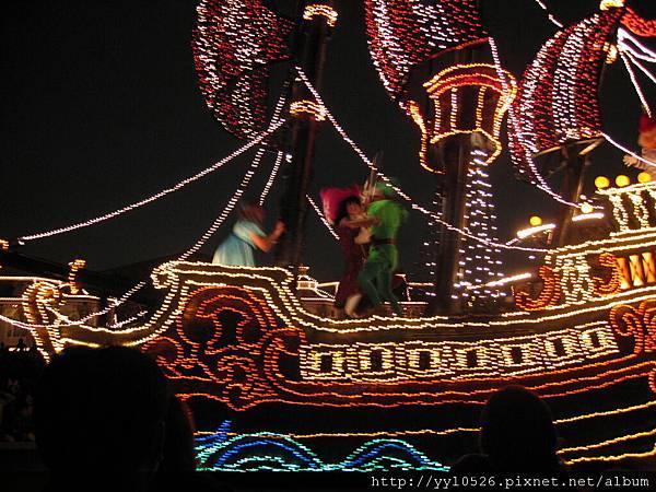 東京迪士尼-花燈遊行9.JPG