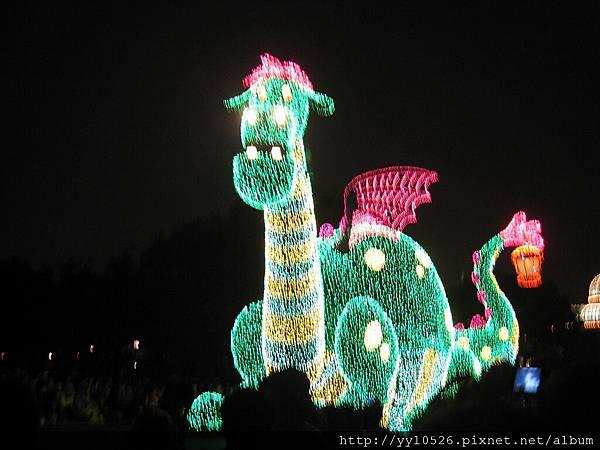 東京迪士尼-花燈遊行12.JPG