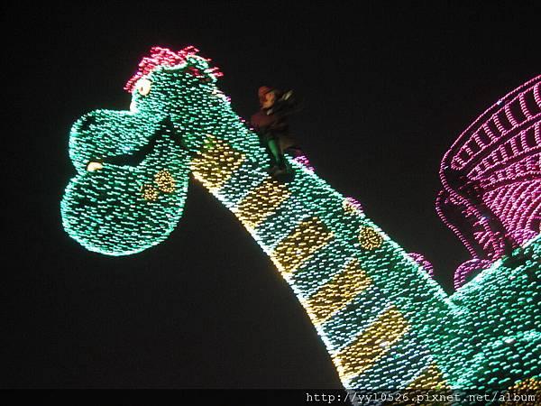 東京迪士尼-花燈遊行13.JPG