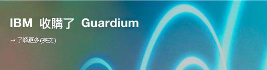 IBM 收購了 Guardium. 了解更多(英文)