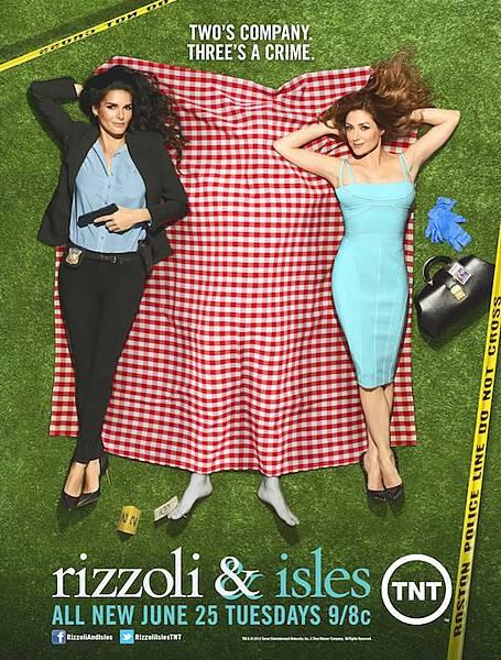 警網雙媚 Rizzoli & Isles(Season 4)