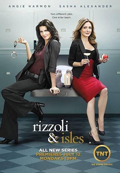 警網雙媚 Rizzoli & Isles(Season 1)