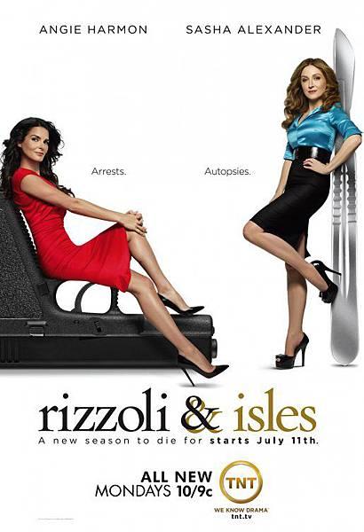 警網雙媚 Rizzoli & Isles(Season 2)
