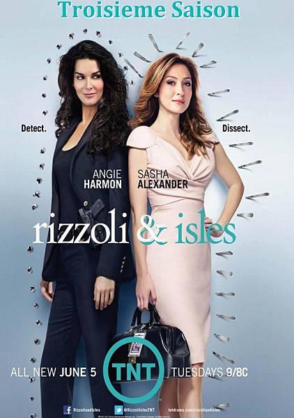 警網雙媚 Rizzoli & Isles(Season 3)