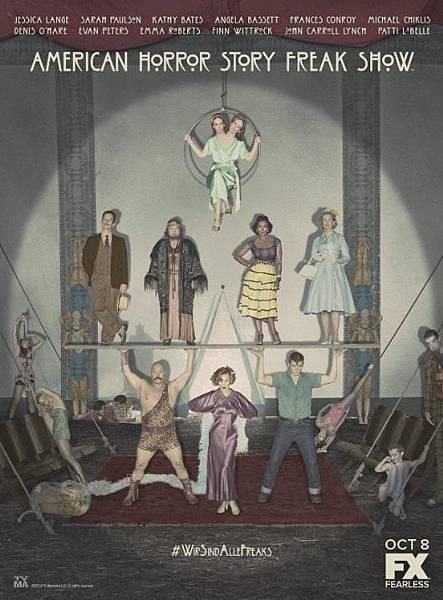 美國恐怖故事:畸形秀 American Horror Story:Freak Show