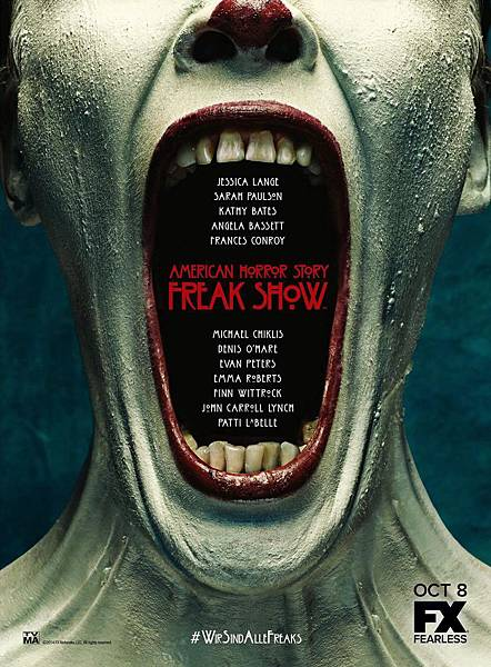 美國恐怖故事:畸形秀 American Horror Story:Freak Show(2)