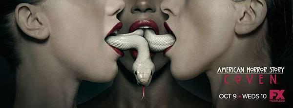 美國恐怖故事:女巫集會 American Horror Story:Coven(封面照)