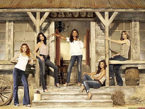 布麗(瑪西亞克羅絲 Marcia Cross 飾)、蘇珊(泰瑞海契 Teri Hatcher 飾)、芮妮(凡妮莎威廉斯 Vanessa Williams 飾)、嘉碧葉拉(伊娃朗格莉亞 Eva Longoria 飾)、莉奈(費麗西蒂荷夫曼 Felicity Huffman 飾)