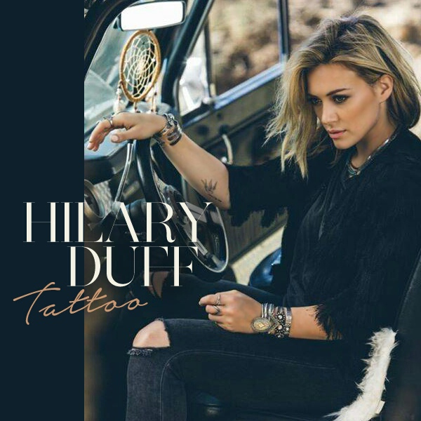 Hilary Duff - Tattoo