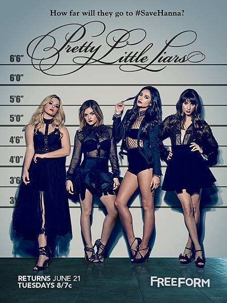 美少女的謊言 Pretty Little Liar(Season 7)