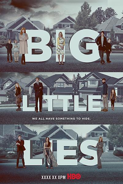美麗心計 Big Little Lies(非官方海報)