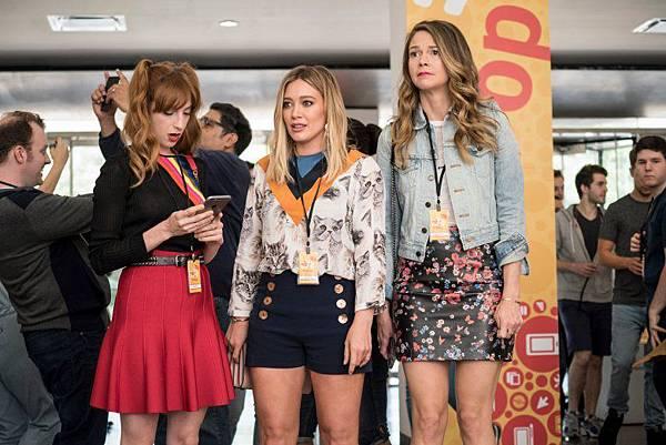 蘿倫(茉莉伯納德 Molly Bernard 飾)、凱希(希拉莉朵芙 Hilary Duff 飾)、萊莎(莎丹福斯特 Sutton Foster 飾)