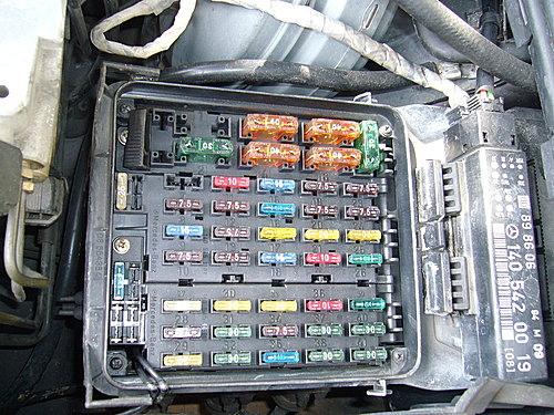 44 W140 S320前保險絲盒內資料 W140 S320及bmwz3的部落格 痞客邦